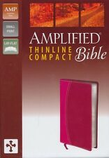 Amplified Thinline Bible Compact, Italian Duo-Tone, Magenta/Razzleberry