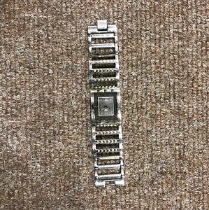 SWATCH Watch Brilliant Bangle, Metal And Crystal, Womens, 17cm, Genuine, Swiss