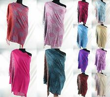 *US SELLER*12 winter Scarves and Wraps Wholesale pashmina shawl paisley