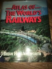 Vintage Atlas Of The World's Railways By Brian Hollingsworth 1980