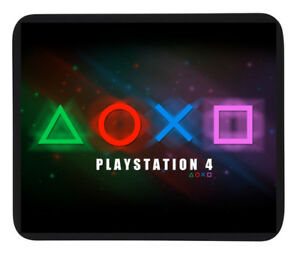 SONY PS4 GAMING DESIGN MOUSE MAT / PAD - PC/Laptop or Dinner Mat / Coaster- Gift