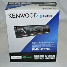 Kenwood KMM-BT204 Digital Media Bluetooth Car Stereo Receiver Brand New