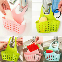 Kitchen Sink Sponge Holder Bathroom Hanging Strainer Organizer Storage Rack Gift