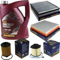 Ölwechsel Set 5L MANNOL Energy Premium 5W-30 Motoröl + SCT Filter KIT 10754582