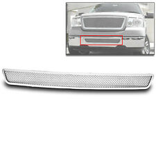 2004-2005 FORD F-150 F150 BUMPER LOWER MESH GRILLE STAINLESS STEEL GRILL CHROME