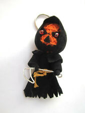 Psychopomps Halloween Voodoo String Doll Keychain Ornament Accessory (handmade)