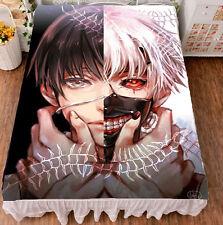 Anime Tokyo Ghoul Kaneki Ken Cosplay Flat Bed Sheet Bedding Blanket Gift #JM-18