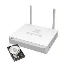 NVR 4 CH CANALI WIRELESS WIFI CLOUD IBRIDO FULL HD 1080p 3G ONVIF VIDEOSORVEGLIA