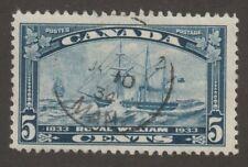 CANADA 1933 #204 Royal William - F Used
