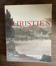 2003 June 5 CHRISTIE'S London Auction Book British Art On Paper (X4)