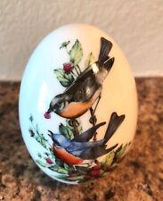 Avon Four Seasons Porcelain Egg, Summer's Song 1984
