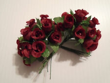 Wedding Favor mini Silk roses bunches of 24