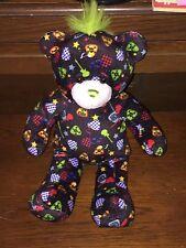 """16"""" Build a Bear Rock 'n Roll Bear Plush w/Speaker for MP3 IPod"""