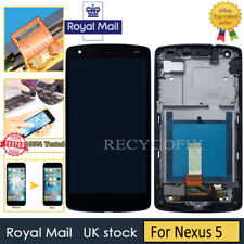 For LG Google Nexus 5 D820 Replacement Screen LCD Touch Digitizer Frame Black