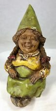 #00 Ink Signed Tom Clark Gnome Meg Shelf Sitter Rare Early Version Cairn Studios