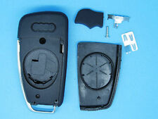 AUDI  A3 A4 A6 A8 Q7 TT A1 R8 RS4 S3 S4 REMOTE KEY FOB CASE AND BLADE 3 BUTTONS