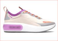 🔥100% Auth Nike Women Air Max Dia SE Light Orewood Brown/Violet Starfish Sz 8🔥