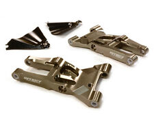 INTEGY RC T8684GREY Machined F Lower Suspension Arms for HPI Ken Block WR8 3.0