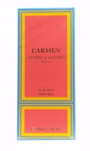 CARMEN VICTORIO & LUCCHINO 50ML / 1.7 OZ. EAU TOILETTE  FOR WOMAN DESCATALOGADO