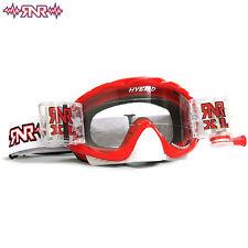 Motocross Goggles Rip N Roll Hybrid XL Fully Loaded R5XL red MX ATV MTB