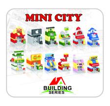 Mini City Modular Stores - 12 Mini Stores - fits LEGO Bricks Set Kit