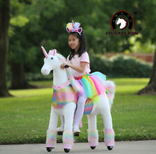 Medallion - My Pony Ride On Real Walking Horse for Children - Pink