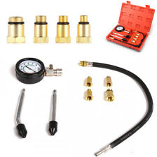 New Automotive Motorcycles Petrol Engine Cylinder Compression Tester Tool Kit