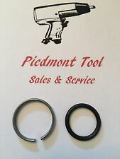 """Ingersoll-Rand Socket Retainer Ring & O-Ring 1"""" Anvil For IR Model 285A & 285A-6"""