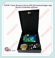 TCP/IP 1 Door Browser Server B/S iOS Android Apple App Access Controller w/Power