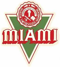 Miami Of Ohio    University   College   Vintage Looking  Travel Decal Sticker