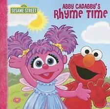 Abby Cadabby's Rhyme Time by P J Shaw (Paperback 2007 =SESAME STREET