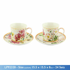 Country Floral Tea Cups