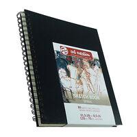 Bloc Espiral Art Creation 21,5x28 cms - Sketchbook - BLACKBOOK - 80 pág - 110 gr