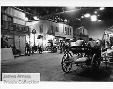 "James Arness Private Collection Gunsmoke ""Behind the Scenes""  Candid  8 x 10"