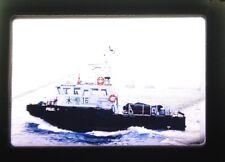Royal Hong Kong Police Maritime Marine Force Ship Boat 35mm Slide Photograph A