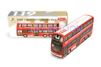 TINY HONG KONG 119 KMB VOLVO B9TL WRIGHT RED(41A) DIECAST CAR MODEL 138416