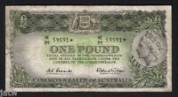 R-34bS. (1961) 1 Pound - Coombs/Wilson.. STAR Note..  Prefix HE/89..  Fine