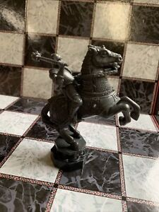 Harry Potter Wizard Chess Game Set - Replacement Piece Black Knight - 1 Only  M