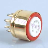 Tube Adapter Converter Socket 12AX7 12AU7 to 6SN7 6SL7 Adaptor 9pin to 8pin Amp