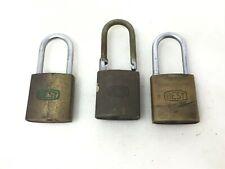 Best Padlock 3 pc lot Lock ACD13 ACD3 ACB73