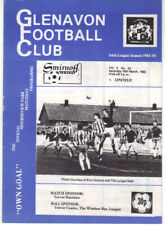 1984/85 Glenavon v Linfield - Irish League - 16th Mar - Vol 3 No 20