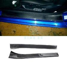 Carbon Fiber Car Kit Fit For Nissan 350Z Z33 2002-2008 Door Sill Plate 2pcs