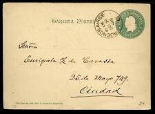 ARGENTINA - ARGENTINA - 1900 - Cart. Post. - Da Buenos Aires a Buenos Aires