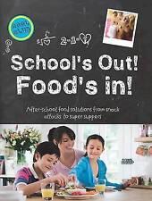 1 x salida de las escuelas alimentos en libro de recetas para niños y familia comidas saludables Nuevo