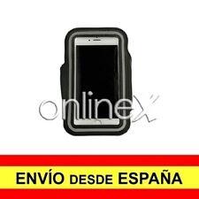 Brazalete Deportivo Neopreno NEGRO para Vodafone Smart Prime 6 a0367