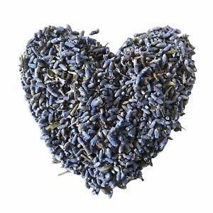 ORGANIC Dried Lavender Flowers 1kg  - BRIGHT BLUE - Lavendula angustifolia