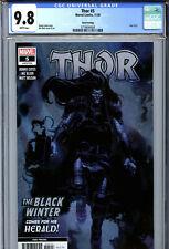 Thor #5 (2020) Marvel CGC 9.8 White Pages 3rd Print Variant 1st Black Winter!