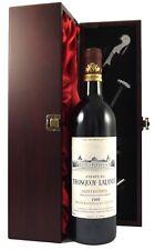 1988 CHATEAU TRONQUOY LALANDE SAINT ESTEPHE vintage Vin Rouge Dans Un Coffret Cadeau