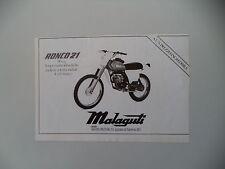 advertising Pubblicità 1979 MOTO MALAGUTI RONCO 21 50