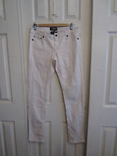 GLAM CITY ROCKER WHITE PANTS JEANS FROM HOT TOPIC SIZE 9